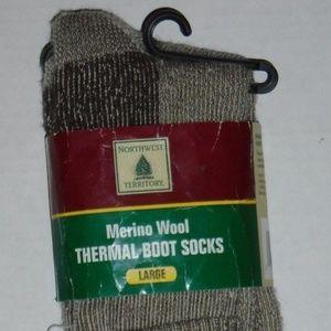 Vintage 1 pairs  merino wool thick thermal socks
